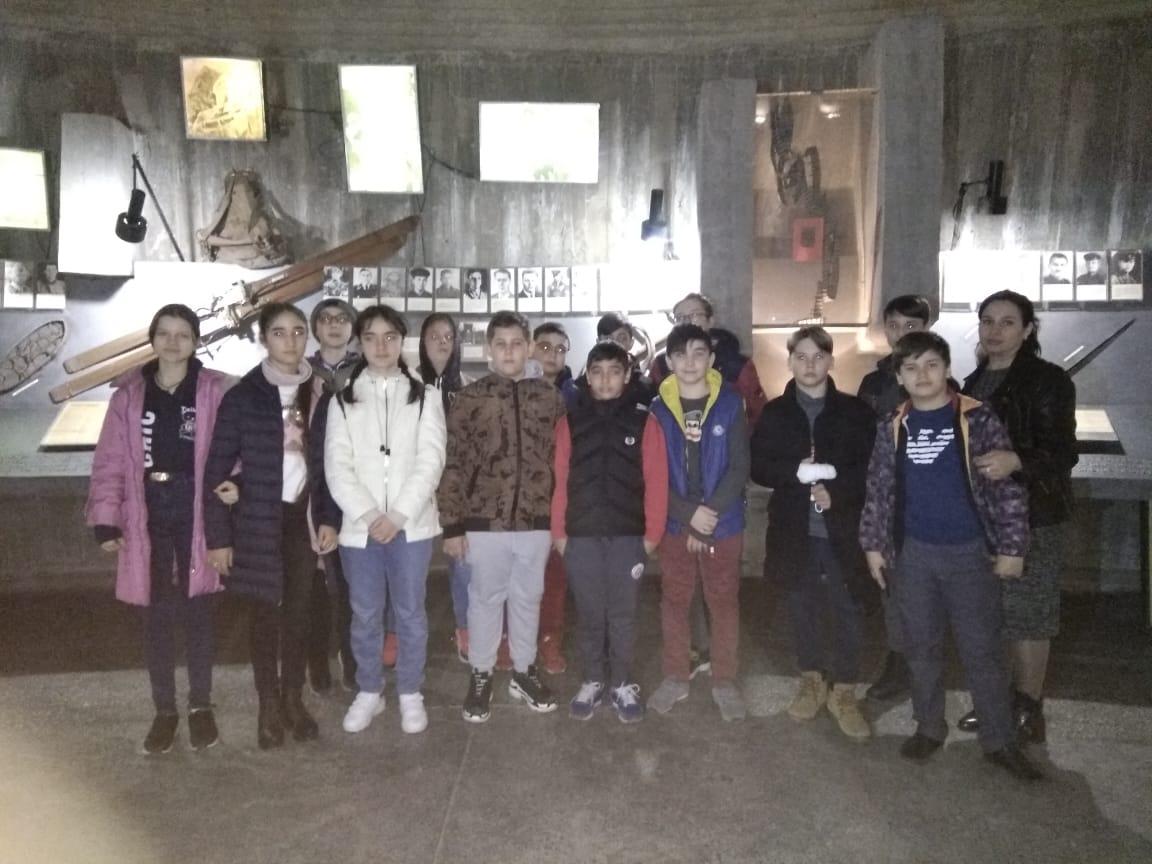 Музей-памятник защитников перевалов Кавказа в п.Орджоникидзевский