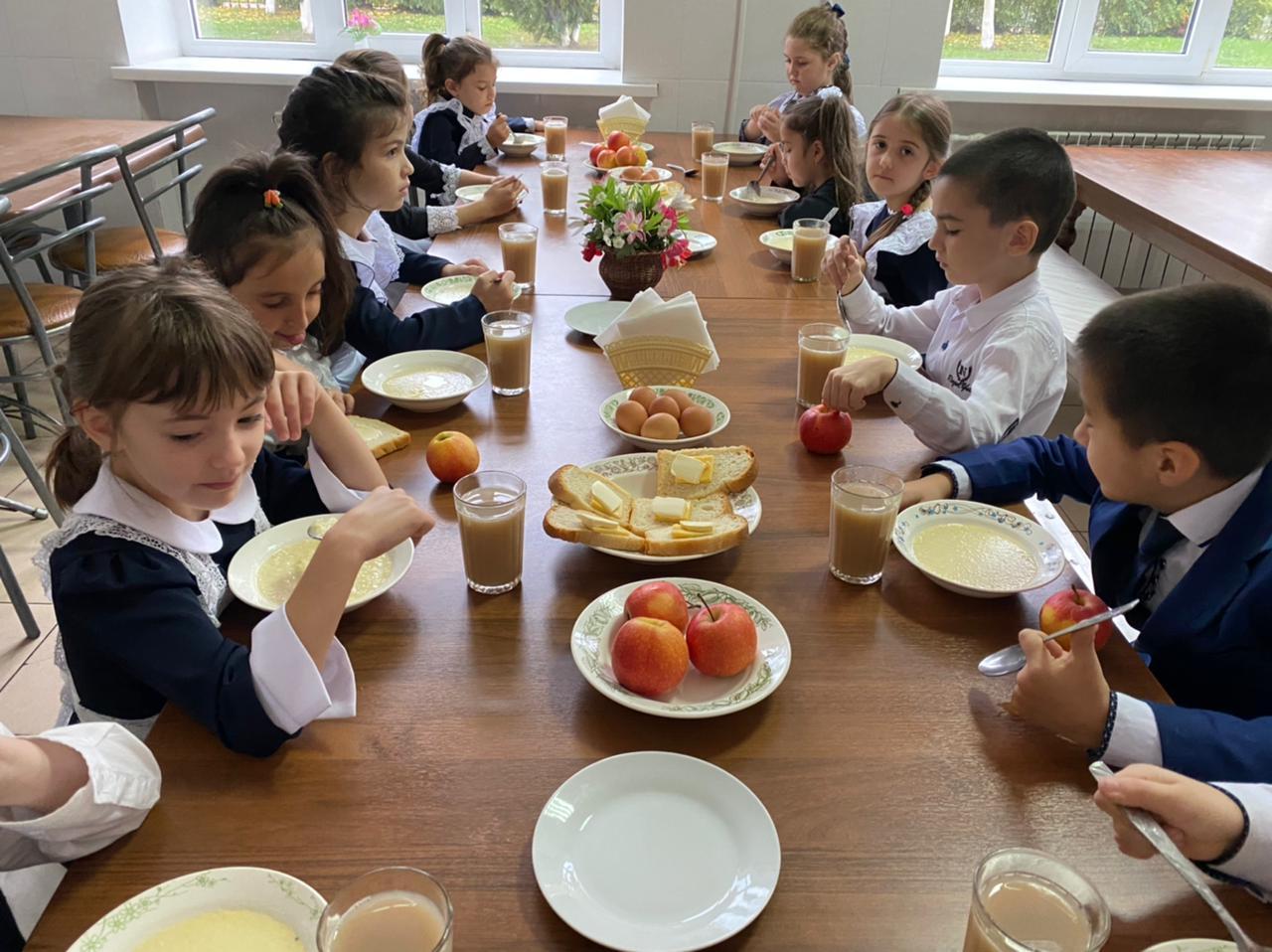 Проверка организации горячего питания для учащихся 1-4 классов МКОУ «СОШ №2» г. Черкесска